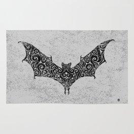 Swirly Bat Rug