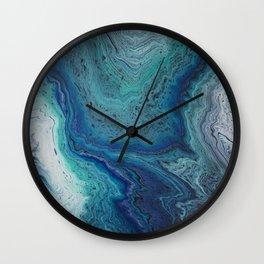 Ocean Rings Wall Clock