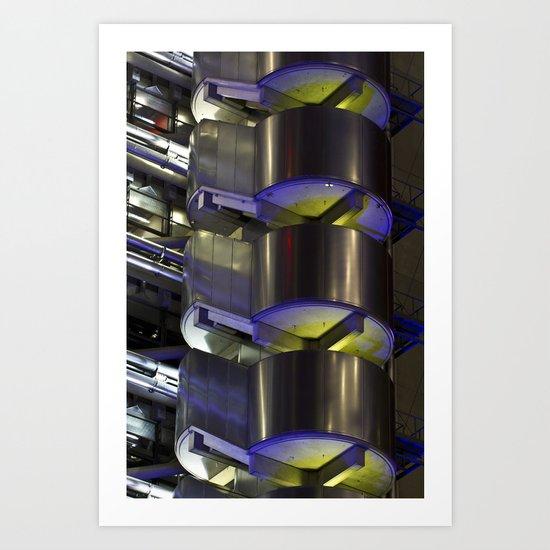 Lloyd's of London Abstract Art Print