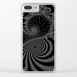 Peaks And Troughs 1 Inverted Clear iPhone Case