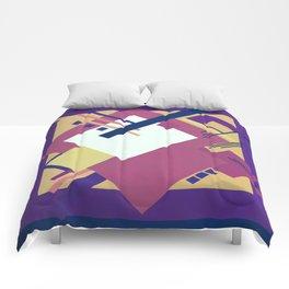 Geometric illustration 19 Comforters