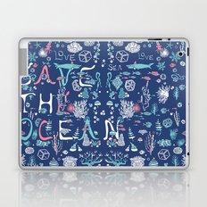 Save the ocean Laptop & iPad Skin