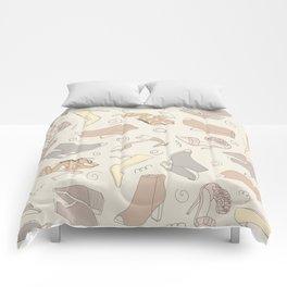 shoe pattern Comforters