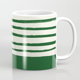 Holiday x Green Stripes Coffee Mug
