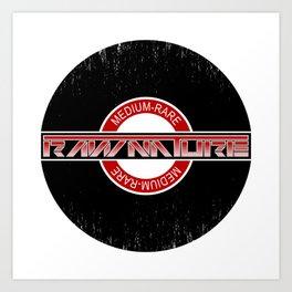Rx - Medium Rare Art Print