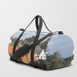 Flying with friends. Duffle Bag