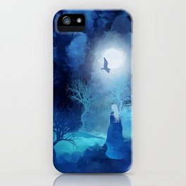The Magician by Viviana Gonzales and Paul Kimble iPhone Case