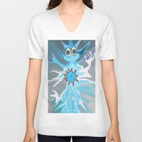 rare V-neck T-shirts featuring Rare Card by Gregree