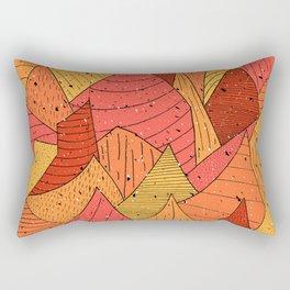 Pumpkin Slices Rectangular Pillow