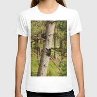 climbing T-shirts featuring Climbing Cubs by Kevin Russ