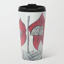Sturt Desert Pea Australian Tangled Wild Flower Travel Mug