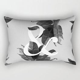 Botanical Ampersand Rectangular Pillow
