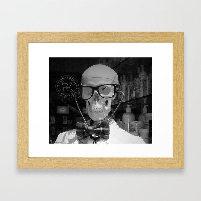 Mad Doc Framed Art Print