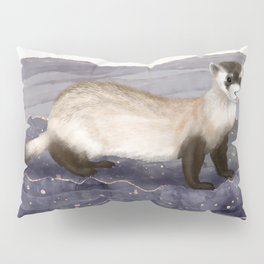 The Black Footed Ferret   Pillow Sham