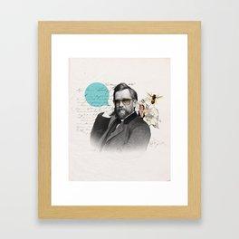 Galã Nouveau Framed Art Print
