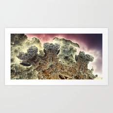 Niheeli surf and turf Art Print