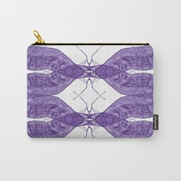 Intricate insect Carry-All Pouch