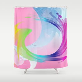 Power and positive energy, 27 Shower Curtain