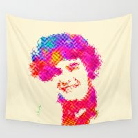 harry Wall Tapestries featuring Harry by deff
