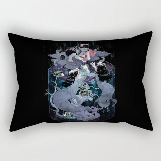Fish food Rectangular Pillow