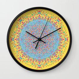 Geoflower Wall Clock