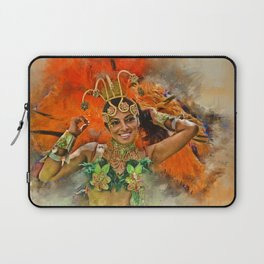 Carnival Queen Laptop Sleeve