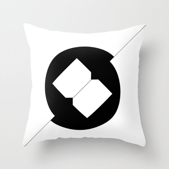 Break Spot Throw Pillow