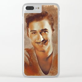 Errol Flynn, Hollywood Legend Clear iPhone Case