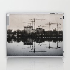 Industrial (retro postcard) Laptop & iPad Skin