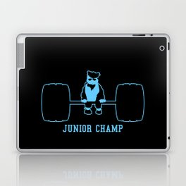 Junior Champ Weight Lifter V6S2 Laptop & iPad Skin