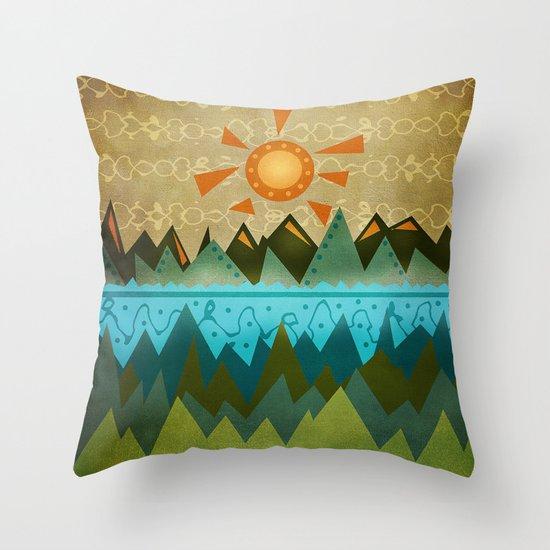 Textures/Abstract 124 Throw Pillow