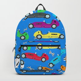 Jack's Vintage Race Cars - Indy 500 Backpack