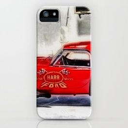 AC Cobra Dragon Snake Candy Apple Red Race Record Holder Prototype by Jeanpaul Ferro iPhone Case