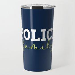 Police Family Travel Mug