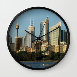 Sydney Central Business District Wall Clock