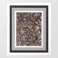 Forest litter #1 Art Print