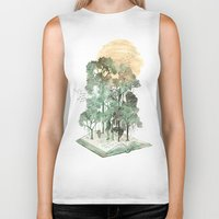 david Biker Tanks featuring Jungle Book by David Fleck