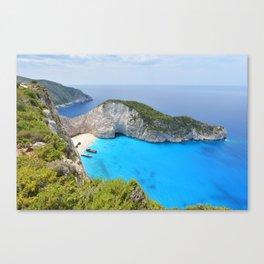 Zakynthos Canvas Print