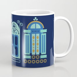 Moroccan Doors – Navy Palette Coffee Mug
