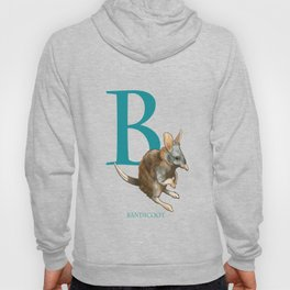 """B is for Bandicoot"": The UnderAppreciated Animals™ series Hoody"