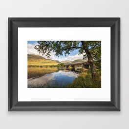 Railway Viaduct Over River Orchy Framed Art Print