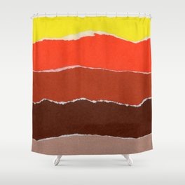 Colores VIII Shower Curtain