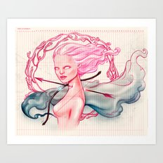 Bowed and Arrowed Art Print