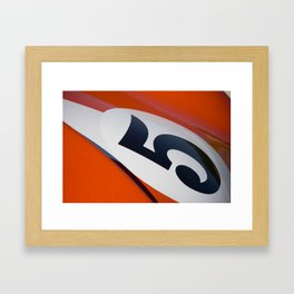 Racer Five Framed Art Print