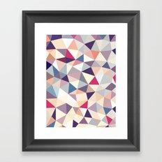 Plumtree Tris Framed Art Print