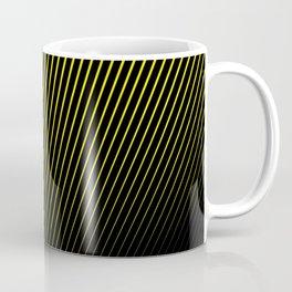 black and yellow background #society6 #decor #buyart #artprint Coffee Mug