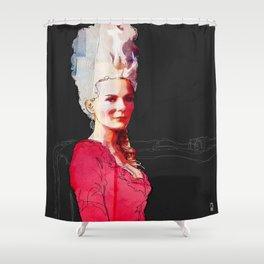 Kirsten Dunst as Marie Antoinette Shower Curtain