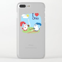 Ernest and Coraline | I love Ohio Clear iPhone Case