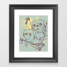 Sea Dogs Framed Art Print