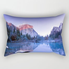 Lake Landscape #photography #society6 #photography Rectangular Pillow